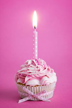 Send Free Pink Cupcake Happy Birthday Card for Wife to Loved Ones on Birthday & Greeting Cards by Davia. It's free, and you also can use your own customized birthday calendar and birthday reminders. Birthday Cards For Women, Happy Birthday Images, Birthday Pictures, Birthday Messages, Happy Birthday Wishes, Birthday Greeting Cards, Birthday Greetings, Happy Birthday Cupcakes, Pink Cupcakes