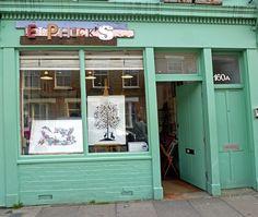 Elphick's by Homegirl London Antique Market, Vintage Market, Speakeasy Bar, Columbia Road, East End London, London Lifestyle, Greater London, Urban Renewal, Facade