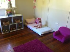 Montessori at home for the little one