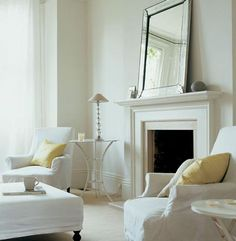 Classic white lounge with Linnet White