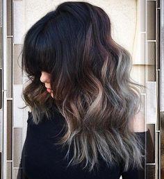 Idées Coupe cheveux Pour Femme 2017 / 2018 40 Coups de cheveux moulants et sans effort à couches longues avec Bangs