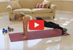 Hurts so good. http://greatist.com/move/abs-exercises-quick-plank-workout-for-strong-core