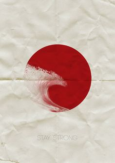 support Japan#tsunami#red#rood#rouge#rot#Ricky Rocket#