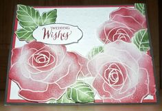 Stampin' Up! Rose Wonder Bouquet of flowers! by CustomNotables - Cards and Paper Crafts at Splitcoaststampers