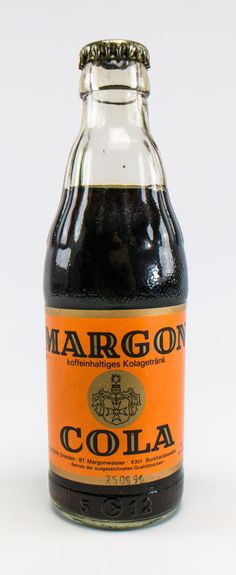 "DDR Museum - Museum: Objektdatenbank - ""Margon Cola"" Copyright: DDR Museum…"