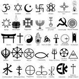 Officially Approved Government Headstone Religious Symbols, for Arlington National Cemetery and *all* National Cemeteries - while majority are going to be the basic Christian cross or Star of David, this does take into account the many different religions Spiritual Symbols, Religious Symbols, Ancient Symbols, Occult Symbols, Religious Rituals, Religions Du Monde, World Religions, Freedom Of Religion, Symbols And Meanings