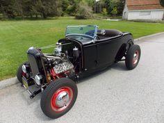 '32 Ford roadster .. w/ aftermarket Brookville steel tub and 250ci, Vern Tardel/Ed Binggeli built 59AB