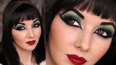 I'll never have the opportunity to wear this, but it is a very interesting, informative video: Historically Accurate: Ancient Egypt / Cleopatra Makeup Tutorial