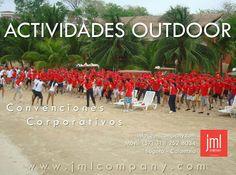 Actividades Outdoor. Convenciones y eventos corporativos.