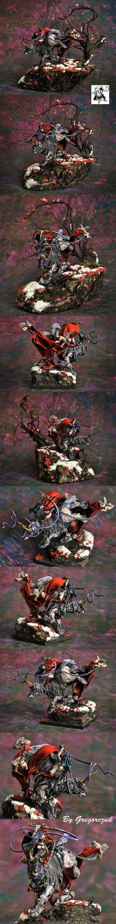 Chaos Slaneesh Lord on Demonic Steed