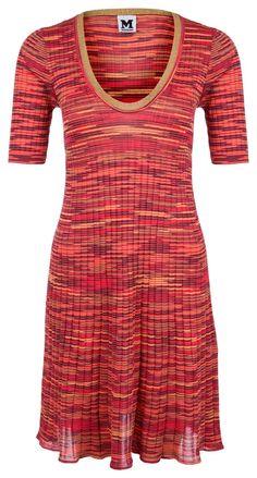 M-Missoni Damen Strickkleid Orange | SAILERstyle M Missoni, Trends, Designer, Orange, Fashion, Tight Crop Top, Fitted Skirt, Full Skirts, Breien