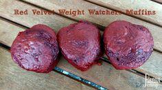 Red Velvet Weight Watchers Muffins 4 Points Plus for the larger muffins and 1 Points plus for the smaller muffins.