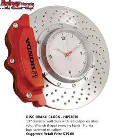 Parkway Honda Clock