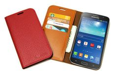 Jacklyn Genuine Cow's Leather Flip Cover for Galaxy Grand 2