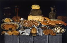 Clara Peeters - Still Life with Crab, Shrimps and Lobster - Google Art Project…