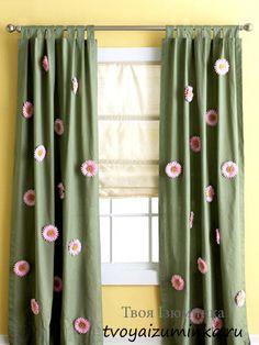 Декор окон шторами с фото - обновляем интерьер.