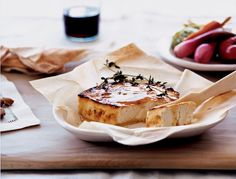 Roasted Feta With Thyme Honey Recipe - NYT Cooking