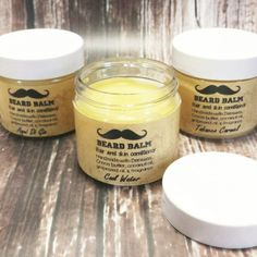 Natural Beard/Mustache Condition Balm - 6 Scents!