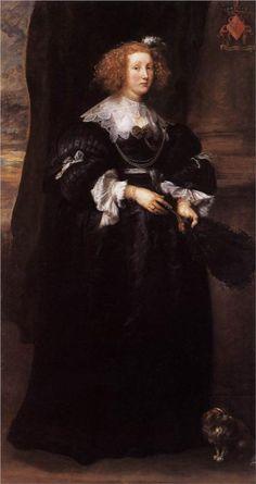 Anthony van Dyck, Marie de Raet, 1631