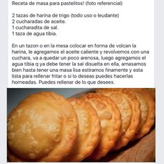 me ~ Masa para pastelitos in 2019 Boricua Recipes, Mexican Food Recipes, Sweet Recipes, Churros, Salvadorian Food, Venezuelan Food, Comida Latina, Tasty, Yummy Food