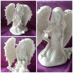 One is holding a rose, one holding a butterfly and one resting her hands on her knees. They are about tall and the detail on them is lovely. Their price is Is 11, Butterfly, Hands, Sculpture, Statue, Detail, Rose, Inspiration, Products