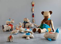 Toys from Renate Müller's Upcoming Exhibition | Handmade Charlotte