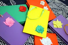 Bolsas de Papel Decoradas - Decorated Paper Bags