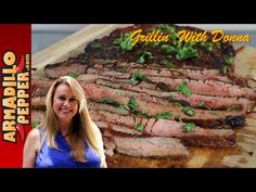 Grilled Cherry-Chipotle Flank Steak - YouTube