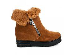 Hnedé čižmy na platforme Ariana Ugg Boots, Uggs, Winter, Shoes, Fashion, Winter Time, Moda, Zapatos, Shoes Outlet