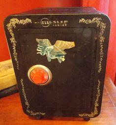 Vintage Toy Safe Bank by Mosler