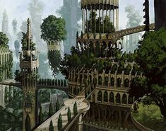 The Tanglewoods are the biggest, oldest forests in Ilios and entire settlements of Faenir and Falni live in houses and castles built into the very trees. The largest settlement is Desire's Hollow, which is ruled by a chieftain, Willa.