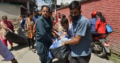 A second earthquake has struck Nepal, just a fortnight after a quake registering 7.8 left thousands dead.