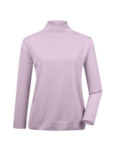 € 49,99 PLUS SIZE Mona Stehbund-Pullover mit Merino-Schurwolle Mona, Pullover, Partner, Turtle Neck, Plus Size, Purple, Sweatshirts, Sweaters, Medium