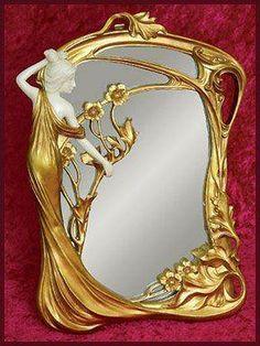 Art Nouveau - Miroir - 1905