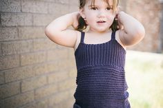 Ravelry: Knit Look Crochet Tank Top Halter Top pattern by Sarah Lora. Sizes all the way up to XL adult