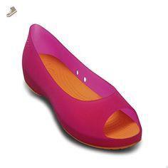 577716752a5f5c Crocs Pink Everleigh Flats - Women - Crocs flats for women ( Amazon Partner-