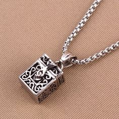Sterling Silver Urn Necklace for Ashes Women Men Cherish Memories Jewelry to Keep Someone Near to You SOULMEET Cremation Jewelry for Ashes