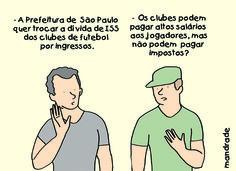 Cartum publicado hoje na Folha de S. Paulo.