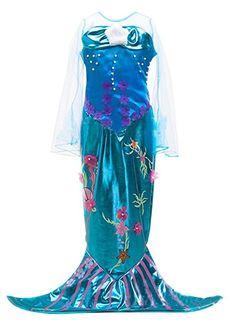 Eyekepper Kleine Maedchen Meerjungfrau Kostuem-Halloween-Kostuem-Kleid 100cm