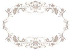Fondo del ornamento de la vendimia Fondo de la decoración del vector Foto de archivo libre de regalías