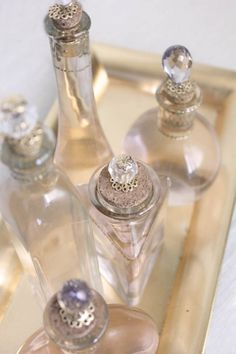 Exquisite DIY Perfume Bottles | Shelterness