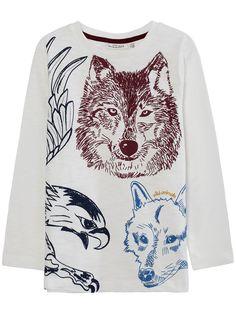 T-shirt, Offwhite, Kids - KappAhl