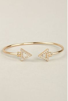lulu's $10 http://www.lulus.com/products/arrows-by-any-other-name-gold-bracelet/141874.html