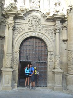 Camino de Santiago on route to Logrono..last day of my camino...best experience ever!