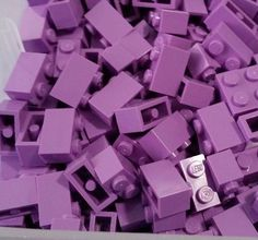 LEGO 20 Bricks Medium Lavender Purple 1 x 2 #LEGO