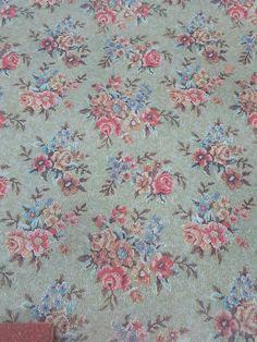 Vintage Linoleum Shabby Vintage, Vintage Decor, Shabby Chic, Garden Mural, Room Of One's Own, Vinyl Flooring, Floor Rugs, Victorian, Modern