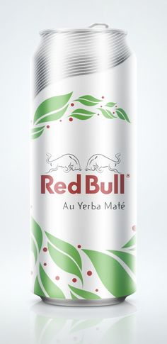 Red Bull Yerba Maté Concept by Diego Pernet, via Behance