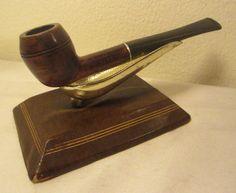 Vintage Dr. Grabow Duke Straight Bulldog Style Estate Briar Tobacco Smoking Pipe