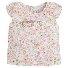 Mayoral Baby Girl 3M-24M Mix Media Denim Vest