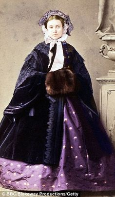Princess Victoria, mother of Kaiser Wilhelm, was the eldest daughter of Queen Victoria